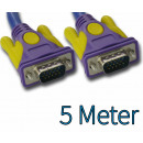 SVGA Monitor Cable 5m