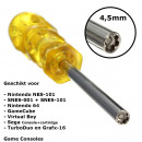 wholesale Manual Tools: Screwdriver 4,5mm for Retro Consoles