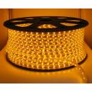 100 mètres High Voltage Strip LED jaune