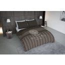 groothandel Home & Living: dc boutique hotel taupe ,  135X200 GER