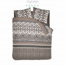 dc bohemian taupe flanel ,  135X200 GER