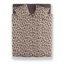 wholesale Bed sheets and blankets: the leopard taupe ger, 135x200 GER