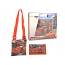 kids gift bag + portemonnee Cars