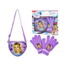 cadeau enfants bracelet coeur + gants Violetta