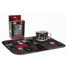 gift kitchen tablecloth + cup Star Wars