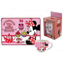 gift kitchen tazza + tovaglietta minnie