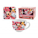 gift keuken cup + Coaster Minnie