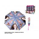 Großhandel Regenschirme: 'Es regnet' Kinder Mini - Regenschirm 52/8 Handbuc