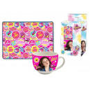 gift kitchen tablecloth + cup Soy Luna