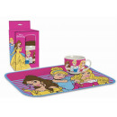 gift kitchen placemat + Princess cup