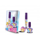 gift beauty 2 lipgloss + 1 Princess nail polish