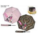 regen paraplu 54/8 auto op. / Cl. roze / leo