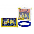 gift kids wallet + armband Minions