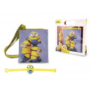 Cross + gift kid armband Minions