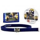 gift kids wallet + belt Minions