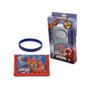 gift kids wallet + armband spide