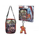 sac cadeau + enfants trousseau Avengers