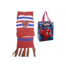 het is koud muts + sjaal spider-man