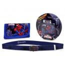 gift kids wallet + spider-man band