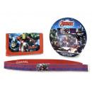 gift kids wallet + riem Avengers