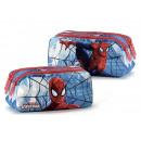 mayorista Material escolar: portadoras signos 3 compartimentos hombre araña