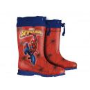 «Il pleut» bottines spider-man pour enfants