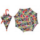 Großhandel Regenschirme: 'Es regnet' poe Regenschirm Kinder 42/8 Handbuch b