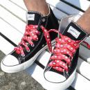 Großhandel Schuhzubehör: Mädchen Skull Schnürsenkel