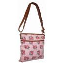 CB170 Rosen Stoff Handtasche Damen Tasche