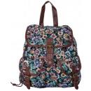 groothandel Rugzakken: Vintage Backpack  Ladies School Woonplaats