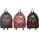 hurtownia Plecaki: Plecak damski szkolny róże NOWOŚĆ