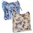 Women's handbag A4 Butterflies Star 2478