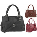 Handtasche Damen Koffer 1254