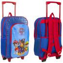 nagyker Licenc termékek: Bőrönd / hátizsák guruló gyerekeknek Paw Patrol