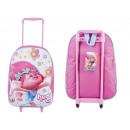 wholesale Suitcases & Trolleys: Suitcase on Trolls Trole DreamWorks