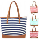 004 Stripe Women's Handbag Ladies Handbags