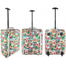 wholesale Suitcases & Trolleys: TB05 Flamingos Travel Suitcase with wheels super