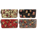 PS81 Oil Owls  Glitter Elegant Women's Wallet