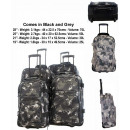 wholesale Suitcases & Trolleys: Set of 4 TB10099 Digital travel suitcases