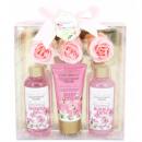 grossiste Meubles de salle de bains & accessoires: Set de Bain - Garden Dreams - Lys & Freesia - 6 Pc