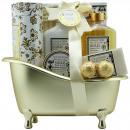 Bath - oro - almizcle y flores - 8 piezas