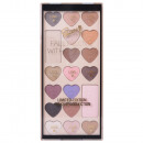 groothandel Make-up: Gloss! Make-up Palette Fall In Love - 19pcs