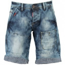 wholesale Jeanswear: PEONY MEN 065 Men's Bermuda Shorts