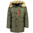 wholesale Coats & Jackets: Men's Parka DIMITRY MEN 056