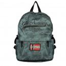 Großhandel Reise- und Sporttaschen: SANFRANCISCO CAMO KAKI 011 + BS Unisex-Tasche