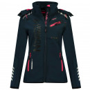 wholesale Coats & Jackets: Softshell Woman REVEUSE LADY NAVY DB 007