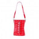 nagyker Erotikus ruházat: Piros vinil fétis vörös táska