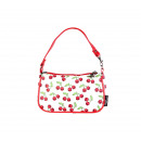 Cherries skull handbag