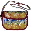 Orange juice recycling capes messenger bag