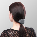 Hair clip retro oval 6 pieces Display - Dotted - 3